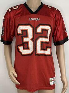 Vintage Men's Wilson Tampa Bay Buccaneers Errict Rhett #32 Football Jersey Large