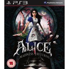 Alice madness returns PS3 BRAND NEW