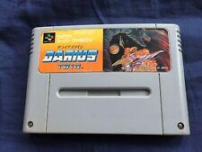 SFC DARIUS TWIN 1991 TAITO SUPER FAMICOM Nintendo game FREE POSTAGE