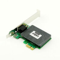 1x 1000Mbps Gigabit Ethernet PCI-E Network Card RJ45 LAN Converter Controller