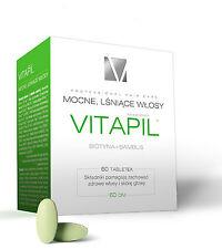 VITAPIL, biotin + bamboo, coated tablets, 60 pcs, Vitapil z biotyną 60 tabl.