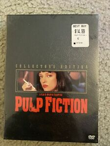 Pulp Fiction (DVD, 2002, 2-Disc Set, Collectors Edition) BRAND NEW SEALED!
