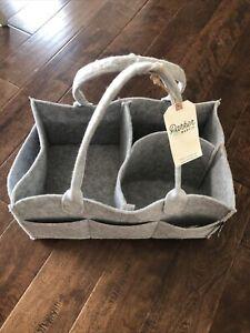 Parker Baby Co Diaper Caddy - Nursery Storage Bin and Car Organizer