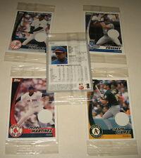 5 Unopened Packs 2002 Post Topps Card Lot Sammy Sosa Mike Sweeney Pedro Martinez