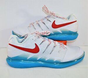 Nike Air Zoom Vapor X Leather Nishikori Tennis Shoes Sz 13 NEW BQ5138 164 RARE