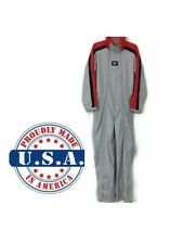 95cff360b29 Vintage TWIN Motorcycle Jumpsuit Racing Suit Coveralls Men s S Made In USA