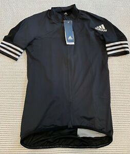 Adidas Adistar Maillot Cycling Jersey Men's Size Med Form Fitting Black CV7089