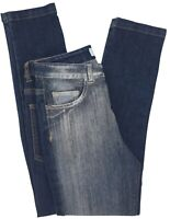 NEW Young Versace RRP £209 Designer Boys Blue Jeans AGE 5 Pants Kids A224