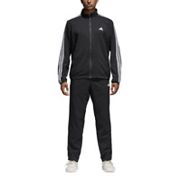 Adidas Men Tracksuit Running Athletics Training Workout Set Light Gym BK4103 New