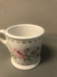 Rachel Ashwell Simply Shabby Chic Rare Ceramic Cup With Pink Roses