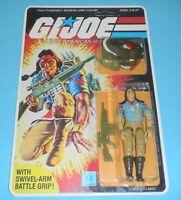1984 GI Joe Spirit Figure Complete Sealed MOC *CUSTOM* Full File Card Back *READ