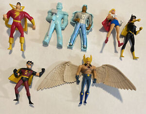 DC Super Heroes figure toy lot - Jack in the Box JBX DC WB (2001) - B8