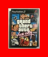 Grand Theft Auto Vice City Ps2 Playstation 2 Game No Manual Tested
