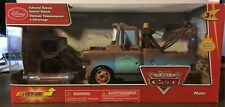 Disney Store The World of Cars Infrared Remote Control Mater! 10""