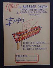 Protège cahier PROIVOSSAGE AUSSAGE PANTIN Wachbuch copybook cover
