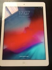 iPad Air 1st Gen 16gb White.  1 hour battery life.