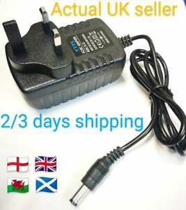 Replacement for 12V 300mA Regulated Voltage AC-DC Adaptor Power Supply 5.5mm