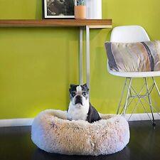 Pet Bed Cat Dog Paw Donut Calming Cuddler Supplies