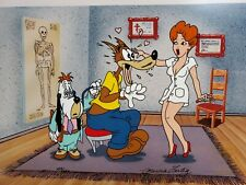 Droopy Production Cel Limited Edition Signed Marcia Vertig,Turner Entertainment,