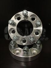"""Set of 2 Wheel Spacers 1"""" Adapters Aluminum 5x4.75 w/ Studs Fits Chevy Blazer"""