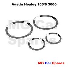 Austin healey 100/6 3000 smiths instrument chrome bezel set