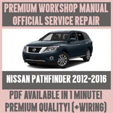 *WORKSHOP MANUAL SERVICE & REPAIR GUIDE for NISSAN PATHFINDER 2012-2016 +WIRING