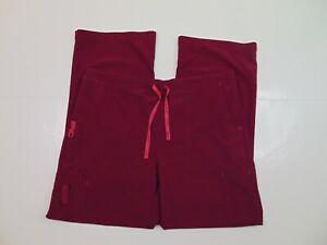 Carhartt Women Petite L Cross Flex Utility Boot Scrub Pants Stretch Uniform