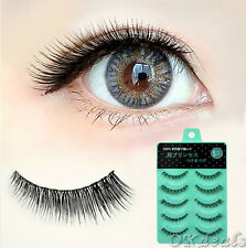 New IL-12 5 pairs Japan Short Cross False eyelashes Natural fake eye lashes Hot