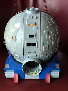 1990 VINTAGE TMNT TECHNODROME  PLAY SET BASE-INCOMPLETE-VERY NICE CONDITION!