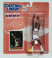 PATRICK EWING New York Knicks Kenner Starting Lineup SLU 1997 NBA Figure & Card