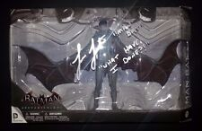 "LOREN LESTER Hand-Signed ""MAN-BAT - Batman Arkham Knight"" Figure (EXACT PROOF)"