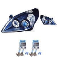 Scheinwerfer Set Opel Vectra C Limo/Kombi 05-08 Angel Eyes klarglas/schwarz UC8