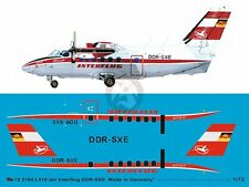 Peddinghaus 1/72 Let L-410UVP Turbolet Markings DDR-SXE Interflug E.Germany 3164