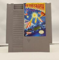 To The Earth - Nintendo NES Game Authentic