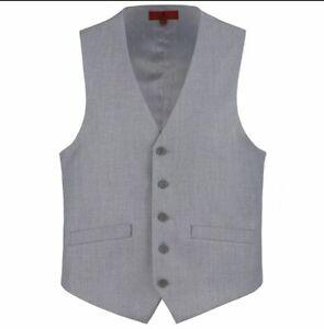 Men's Renoir 5 Button Suit Vest-Wedding-Prom-Quinceanera
