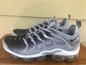 Nike Air Vapormax Plus 924453-007 Men's Wolf Grey Athletic Sneakers Shoes Sz 9.5