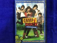 CAMP ROCK DVD EDICION PARA ROCKEROS DISNEY JONAS BROTHERS DEMI LOVATO