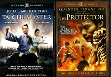 TAI CHI MASTER  /  THE PROTECTOR Jet Li Toni Jaa Martial Arts DVD Dragon Dynasty