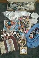 HUGE JOB LOT EMBROIDERY TAPESTRY WOOLS THREADS DMC ANCHOR