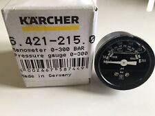ORIGINALE Karcher MANOMETRO 0-300 bar manometro HDS 64212150