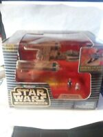 Micro Machines Star Wars Action Fleet YWING STARFIGHTER Blue Leader & R2 1996