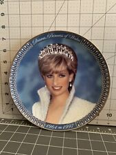 Dianna, Princess Of Wales, Franklin Mint Plate # Hg9659