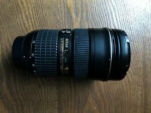 Nikon 24-70mm f2.8 G AF-S ED SWM lens.Works good despiterear element damaged