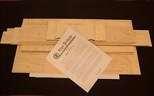1/4 Scale Royal/Marutaka SUPER CUB PA-18 Laser Cut Short Kit & Plans 105.5 WS