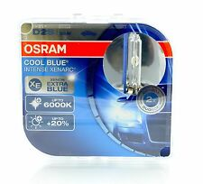 Osram D2S Cool Blue INTENSE Xenon Brenner 6000K 2 Stk 66240CBI +NEU+