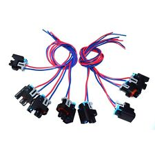 8x Fuel Injector Connector Harness For GM SATURN HUMMER GMC 1P1575 PT2135 575356