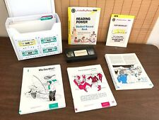 HOOKED ON PHONICS Reading Power Gateway 4 Cassette Teach At Home School Complete