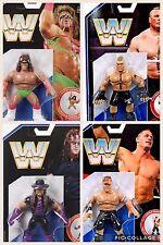 WWE CONJUNTO COMPLETO LOTE RETRO ACCIÓN MATTEL 1 FIGURA DE LUCHA HASBRO ESTILO