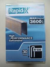 Rapid Tacker Klammern Typ 606 / 30 mm / 3600 Stk. / 40303096