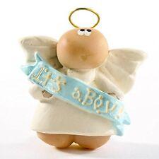 NIP New Mom Pin Baby Gift - Guardian Angel - It's a Boy - Angel Cheeks by Russ
